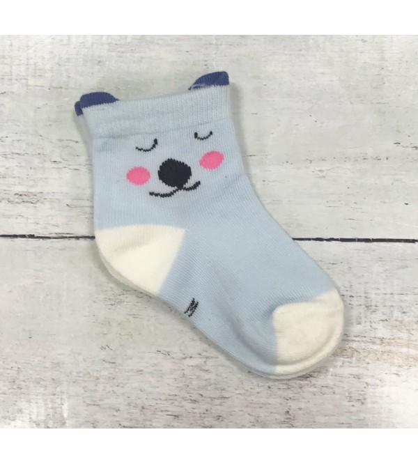 Žaismingos melsvos kojinytės