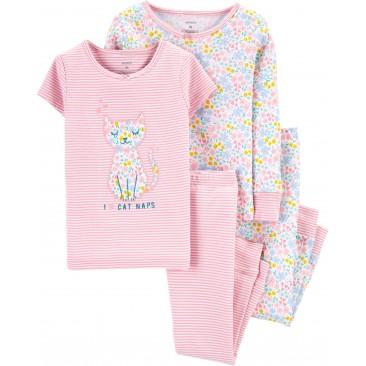 """Carter's medvilninė pižama """"Miau"""""""