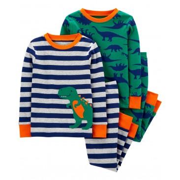 "Carter's medvilninė pižama ""Dino"""