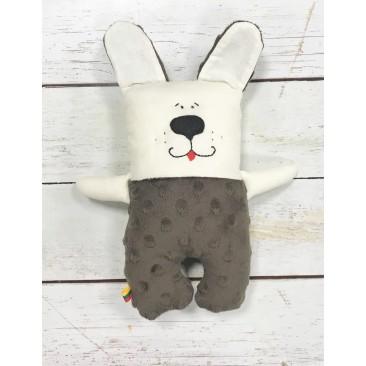 Minkštas žaisliukas šuniukas