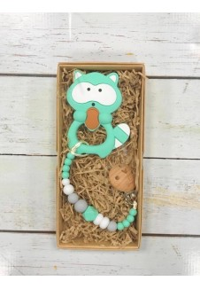 Čiulptuko laikiklis su kramtuku kūdikiams