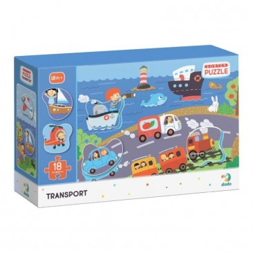 """Dėlionė mažyliui """"Transportas"""""""
