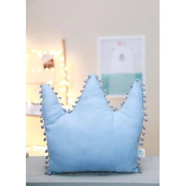 DeCoro mėlyna pagalvė