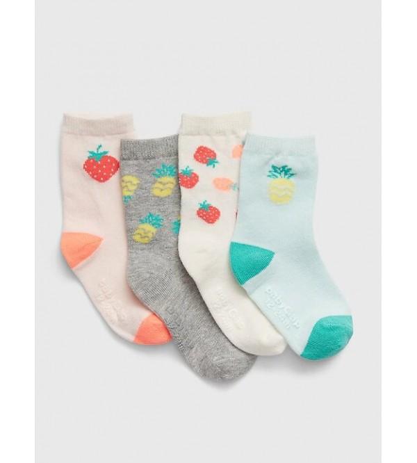 GAP kojinės mergaitei, 4 poros