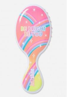 "Mini šepetys plaukams ""Be bright be you"""