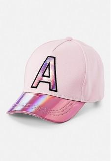 Justice rožinė kepurė su snapeliu