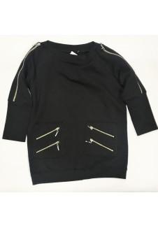 Juodas džemperis