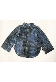 Džinso imitacijos marškinukai