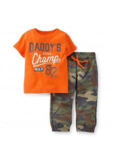 "Carter's komplektukas berniukui ""Dady's Champ"""