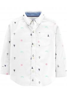 Carter's balti marškiniai berniukams