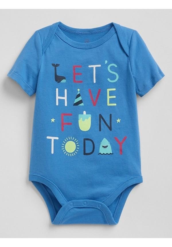 """Baby Gap smėlinukas """"Let's have fun"""""""