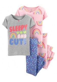 "Carter's medvilninė pižama mergaitei ""Sleepy"""