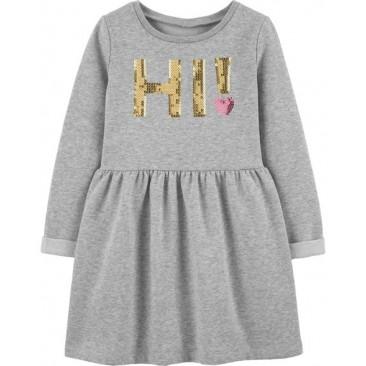 Carter's šilta suknelė HI