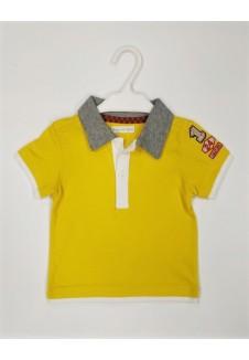 Geltoni polo marškinėliai