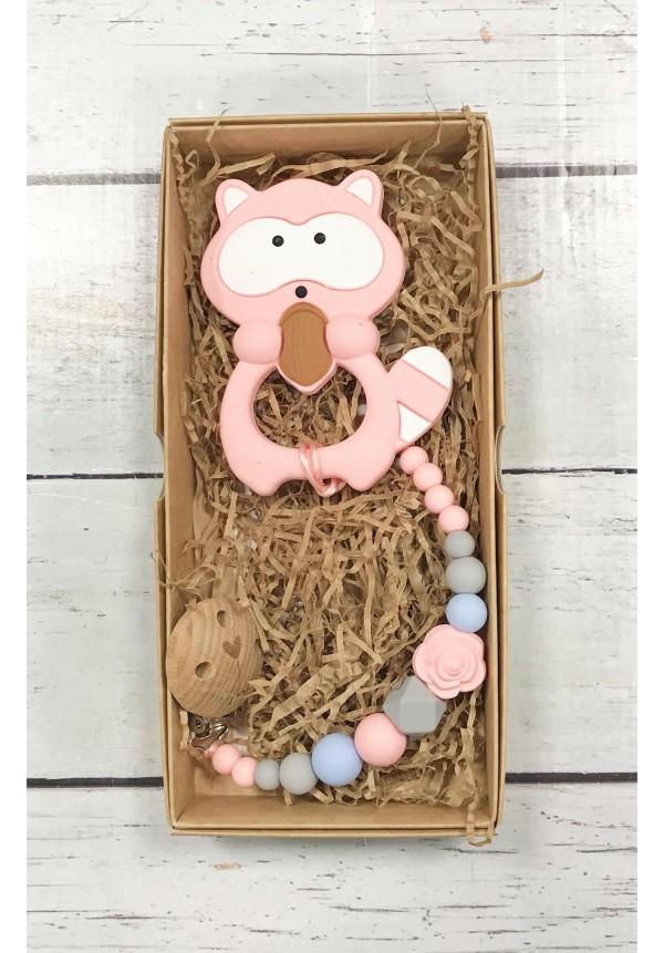 Čiulptuko laikiklis su kramtukas